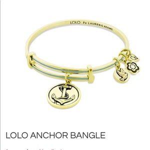 LOLO by Lauren Adams Anchor Bangle